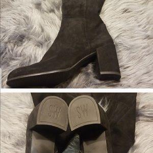 Stuart Weitzman Shoes - Stuart Weitzman Alljack block heel boot